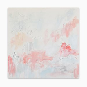 Julie Breton, California Dream, 2017, Mixed Media on Canvas