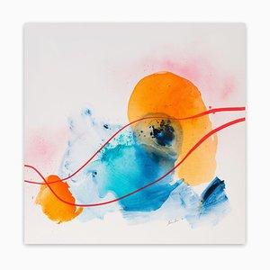 Maria Bacha, Aurora 1, 2018, Acrylic on Canvas