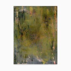 Yari Ostovany, The Third Script 8, 2009, Öl auf Leinwand
