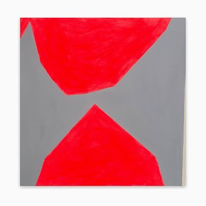 Ulla Pedersen, Cut-Up Paper I.26, 2016, Acryl auf Papier