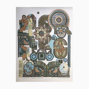 Eduardo Paolozzi, Perpetuum Mobile, 1975, Serigrafía sobre papel