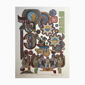 Eduardo Paolozzi, Ciao Picasso, 1975, Screenprint on Paper