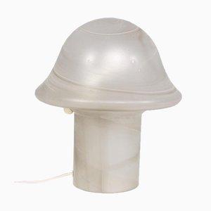 Lampada a fungo in vetro soffiato