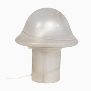 Lampe Champignon en Verre Soufflé