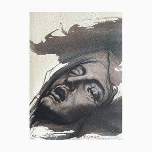Ernest Ponni-Ernest, Corps d'Extase VIII, 2004, Lithograph on Moulin du Gué Paper