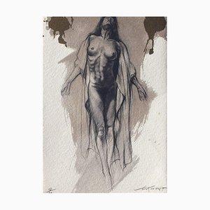 Ernest Ponni-Ernest, Corps d'Extase X, 2004, Lithograph on Moulin du Gué Paper