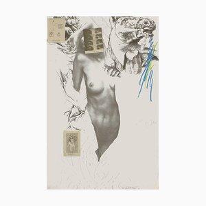 Ernest Ponni-Ernest, Les Yeux de Fougère, 1981, Foto-Lithografie auf Arches Papier