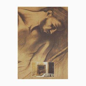 Ernest Pignon-Ernest, Napoli, 1993, Litografía fotográfica sobre papel Arches