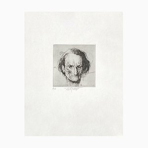 Ernest Pignon-Ernest, Artaud, Grabado sobre papel BFK Rives