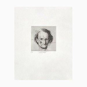 Ernest Pignon-Ernest, Artaud, Radierung auf BFK Rives Papier