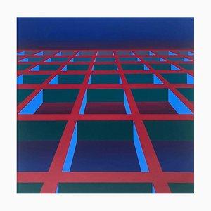 Maxime Defert, Espace I, 1973, Screen Print on Wove Paper