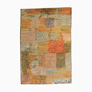 Alfombra escandinava del siglo XX de Paul Klee