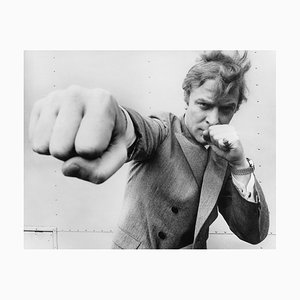 Caine Punching, 1967, Photographic Paper