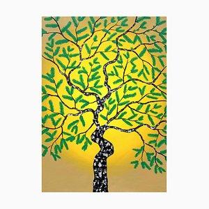 Sumit Mehndiratta, Parvasya, 2020, Acrylic on Canvas