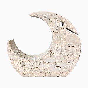 Travertine Sculpture from Fratelli Mannelli, Italy, 1970s