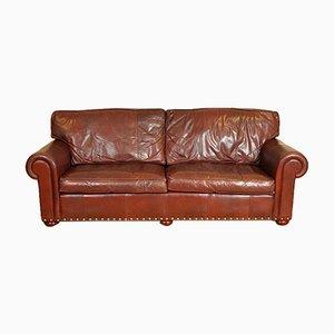 Sofá Berrington Grand en marrón rojizo