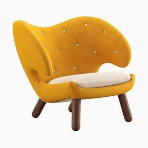Pelican Stuhl mit Stoffbezug von Finn Juhl