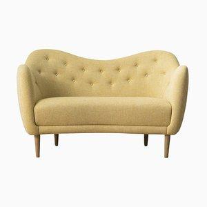 46 Sofa aus Holz und Stoff von Finn Juhl