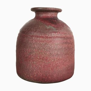 Jarrón de cerámica Studio Pottery de Piet Knepper para Mobach, Países Bajos, años 60