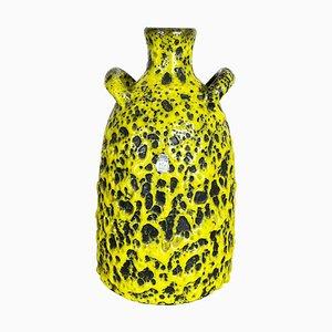 Jarrón Fat Lava vintage de cerámica de Es Keramik, Germany, años 60