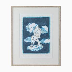 Orfeo Tamburini, Homage to Rodin, Engraving