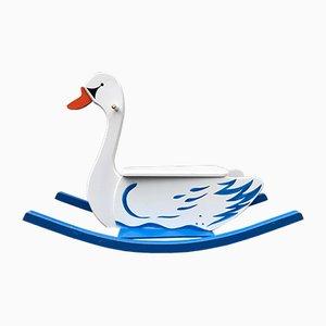 Cisne mecedor de Wisa Gloria, años 50