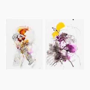 Holy I and II, Acrylic on Canvas