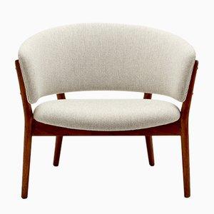 ND83 Stuhl aus Teak & Wolle von Nanna Ditzel für Søren Willadsen Møbelfabrik, Dänemark, 1950er