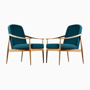 Armchairs from Drevotvar, 1960s, Set of 2