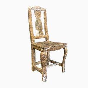18th Century Swedish Folk Art Chair