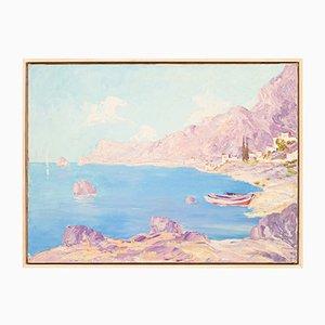 Sea Bay, Oil on Canvas