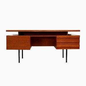 Large Vintage Executive Desk by Leo Bub for Wertmöbel, 1960s