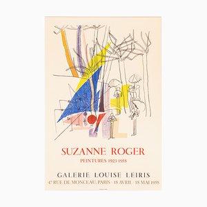 Suzanne Rogers Pintures, Lithografie Ausstellungsplakat