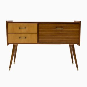 Chest of Drawers with 2 Drawers, 1950s