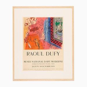 Raoul Dify, Lithografie Ausstellungsplakat