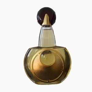 Große Flasche Parfümerie Vitrine