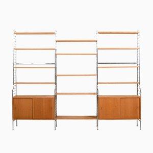 Shelfing System by Kajsa & Nils Strinning for String, 1950s