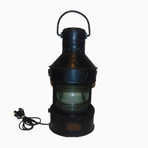 Vintage Industrial Ship Lamp from Tupow A, 1960s