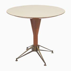Mesa italiana de madera, años 50