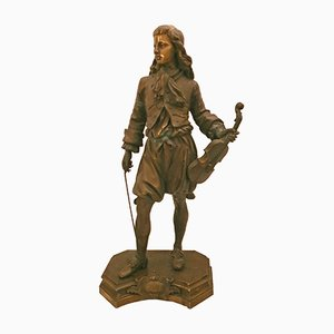 Bronze Statue by Jean-Baptiste Lulli
