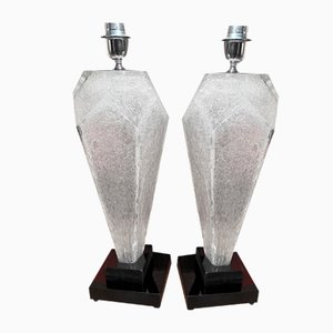 Murano Lamps from Toso, Set of 2