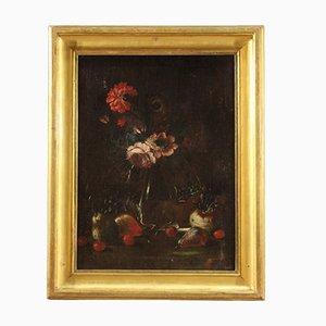 Antique Still Life Painting, 17th Century