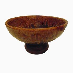 Jarrón Ikebana polaco vintage de cerámica, años 60