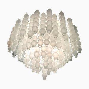 Lámpara de techo extra grande de vidrio burbuja