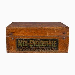 Antike viktorianische Neo Cyclostyle Druckmaschine oder Dubliergerät, England, 1890er