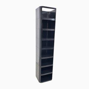 Bookcase Storage 4970 by Anna Castelli for Kartell, 1970s
