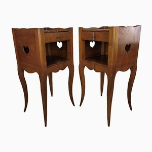 Louis XV Bedside Tables, Set of 2
