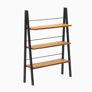 Small Bookcase with 3 Shelves, 1960s