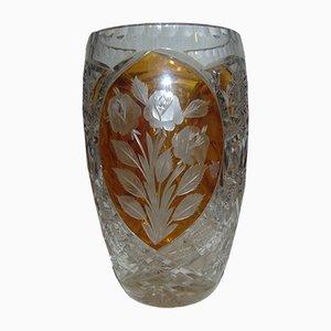 Jarrón de vidrio polaco