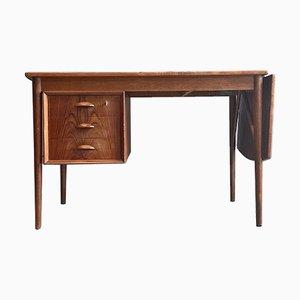 Mid-Century Danish Teak Desk by Erik Buch for Odense Maskinsnedkeri, 1960s
